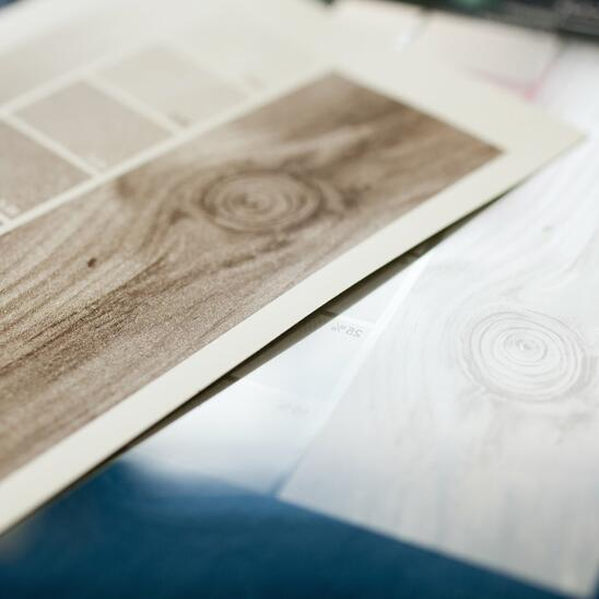 printing and processing decor papers