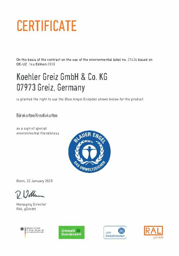 Environmental Protection at Koehler - Koehler Paper Group