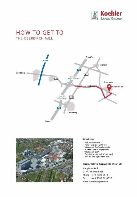 How to get to the Oberkirch mill