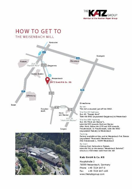 How to get to the Weisenbach mill