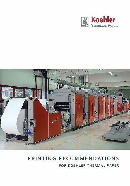Koehler Thermal Paper - Koehler Paper Group